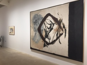 Installation View showing: Motherwell, Robert A View No.1 1958 81.1 x 104 inches / 206 x 264.2 cms  Oil on canvas (C)