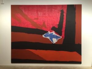 Motherwell, Robert Untitled (New England Elegy No.5) 1967 116 x 140 inches / 294.6 x 355.6 cms (C)
