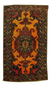 Gymyl Carpet late XIX century Guba group Wool 230 x 132 cm (C)