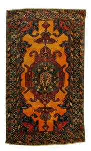 Gymyl Carpet late XIX century Guba group Wool 230 x 132 cm (C)
