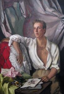 Jacques Fath by Serge Ivanoff,1940's Bagshawe Fine Art