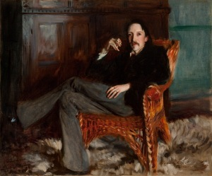Robert Louis Stevenson by John Singer Sargent, 1887 Copyright: Courtesy of the Taft Museum of Art, Cincinnati, Ohio