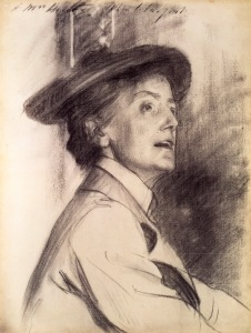 Dame Ethel Smyth by John Singer Sargent, 1901 Copyright: National Portrait Gallery, London
