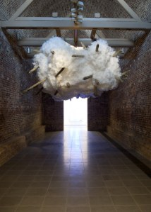 Pascale Marthine Tayou: BOOMERANG Installation view,  Serpentine Sackler Gallery (4 March – 17 May 2015)  Image © READS 2015