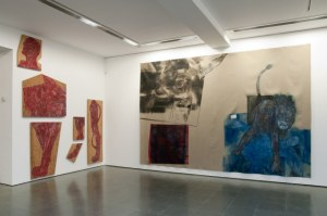 Leon Golub: Bite Your Tongue Installation view,  Serpentine Gallery (4 March – 17 May 2015)  Image © READS 2015