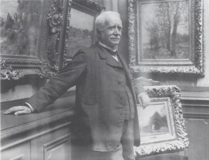Photograph of Paul Durand-Ruel in his gallery, taken by Dornac, about 1910 Archives Durand-Ruel © Durand-Ruel & Cie