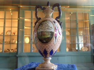 The Kedleston Vase on display in the exhibition National Trust Images/Maggie Tillson