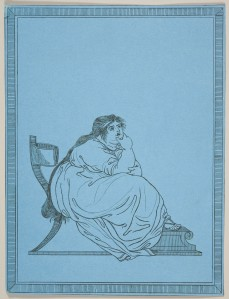 James Gillray (1756–1815) A New Edition Considerably Enlarged of Attitudes Faithfully Copied from Nature, plate III 1807 Etching on blue paper 25.9 x 19.6 cm RCIN 655737 Purchased by the Prince of Wales (later George IV) from Hannah Humphrey on 24 April 1807 for 15s (for the set) Royal Collection Trust / © Her Majesty Queen Elizabeth II 2015