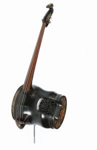 13th Dalai Lama's Double Bass Lhasa, Tibet, 1920s Size: instrument 170 x 56cm