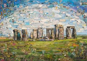 "Vik Muniz ""Stonehenge"" 2014 Copyright of the artist, courtesy of Ben Brown Fine Arts"