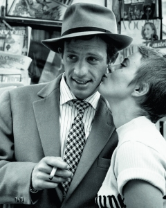"Raymond Cauchetier ""A Bout de Souffle (Jean-­Paul Belmondo and Jean Seberg)"" 1959 Copyright Raymon Cauchetier, courtesy James Hyman Photography, London"