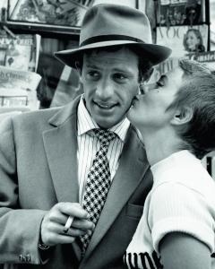 "Raymond Cauchetier ""A Bout de Souffle (Jean-Paul Belmondo and Jean Seberg)"" 1959 Copyright Raymon Cauchetier, courtesy James Hyman Photography, London"