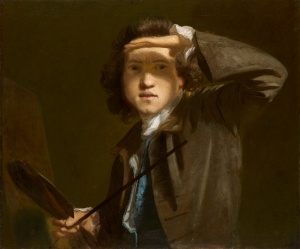 Joshua Reynolds,  Sir Joshua Reynolds, c. 1747-49,  © National Portrait Gallery, London
