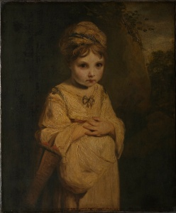 The Strawberry Girl Joshua Reynolds,  The Strawberry Girl, 1772-3,  © The Wallace Collection,  Photo: The National Gallery, London