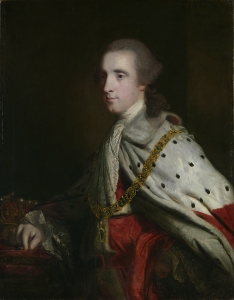 Joshua Reynolds,  The 4th Duke of Queensberry ('Old Q') as Earl of March, 1759  © The Wallace Collection