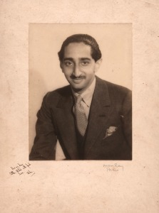 Man Ray. Maharaja Yeshwantrao Holkar II. Signed by Man Ray and stamped on the verso: 'Man Ray/31bis Rue/Campagne/Première/PARIS/Littre 76-57', circa 1930 Gelatin silver print, 23.2 x 17.5 cm