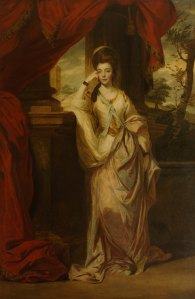 Joshua Reynolds, Lady Anne Luttrell, The Duchess of Cumberland (1743-1809), 1772-1773;  oil on canvas; 2490 x 1620mm;  Waddesdon, The Rothschild Collection (The National Trust) Bequest of James de Rothschild, 1957; acc. no. 2303  © The National Trust, Waddesdon Manor