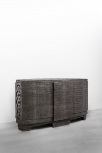 INGRID DONAT | COMMODE AUX 5 ENGRENAGES (GRAND MODELE) 2013 BRONZE H90 L160 W48 CM / H35.4 L63 W18.8 IN LIMITED EDITION OF 8 + 4 AP  Carpenters Workshop Gallery