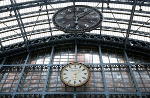 One More Time, 2015, by Royal Academician Cornelia Parker for Terrace Wires at St Pancras International station, co-presented by HS1 Ltd. and the Royal Academy of Arts © Tim Whitby, Getty Images