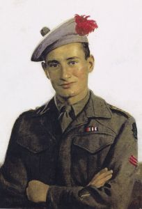 Brian Stewart, Captain with the 1st Battalion, Tyneside Scottish