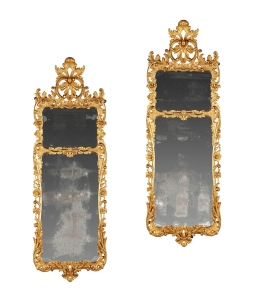 A Pair of George III Pier Mirrors England circa 1760 £15,000-20,000 [Lot 151] http://www.dreweatts.com/cms/pages/lot/13873/151