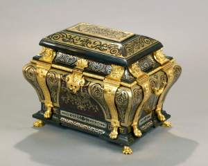 Andre-Charles Boulle,  An exceptional Louis XIV Boulle marquetry casket, circa 1700,  Kraemer Gallery
