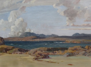 Barbara Christian.  The Western  Isles. 1935.  Oil on canvas. (640x473)