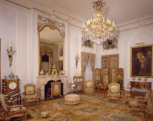 The Grey Drawing Room, Waddesdon Manor, The Rothschild Collection (The National Trust). ©The National Trust, Waddesdon Manor