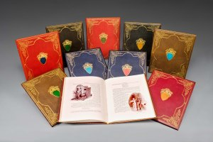 James W. Buel and Verdi Giuseppe, 10 Vols. The Great Operas with numerous illustrations. Exquisitely bound in full morocco, folios, with original boxes, each volume comes with an extra suite of plates (3 hand-coloured). Limited to 50 sets. 1899  Imperial Fine Books