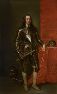 Charles Jervas 1675 – 1739  Charles I (1600 – 1649) in armour, Painted circa 1738,  Oil on canvas, 95 x 57 inches, 241 x 145 cm  The Weiss Gallery