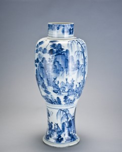 Baluster vase, ca. 1722–1723  Meissen Porcelain Manufactory. Painting attributed to Caspar Ripp (1681–1726) Bequest of Malcolm D. Gutter
