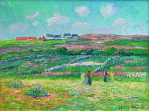 HENRY MORET French (1856-1913) Lande Bretonne Painted circa 1903 Waterhouse & Dodd