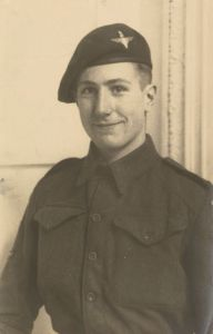 Robert Antony 'Tony' Leake, Corporal with the 8th Battalion The Parachute  Regiment