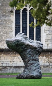William Tucker,  Messenger, 2001,  Bronze, Edition of 3,  Image courtesy of Pangolin London and the artist