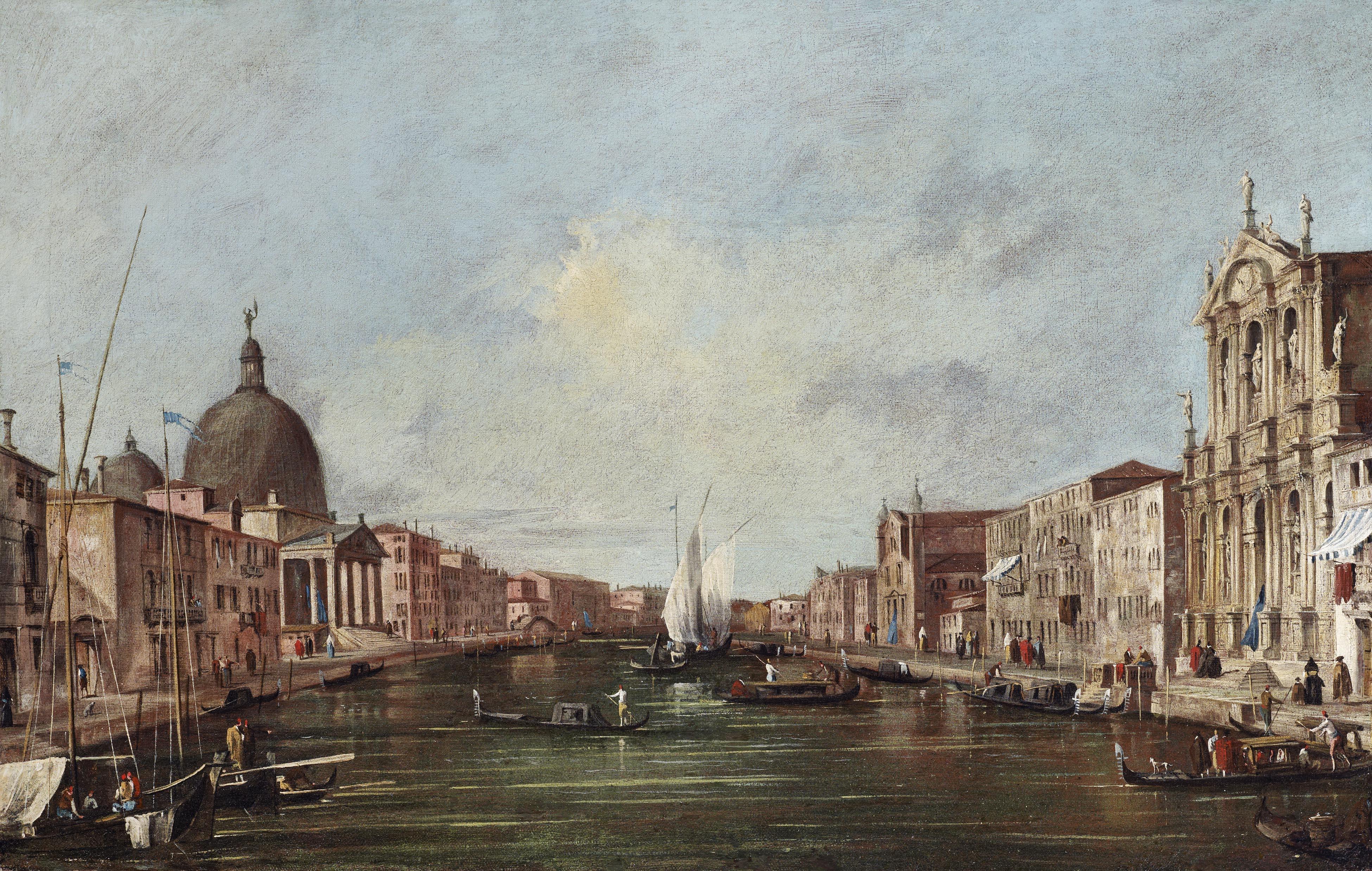 The Grand Canal Venice Francesco Guardi Venice The Grand Canal