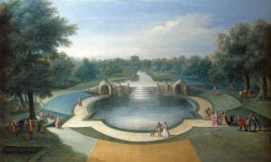 Marco Ricci, A View of the Cascade, Bushy Park Water Gardens, c.1715. Royal Collection Trust / copyright Her Majesty Queen Elizabeth II 2014
