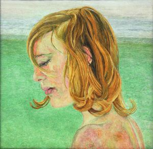 Lucian Freud,  Girl by the Sea, 1956 © The Lucian Freud Archive / Bridgeman Images