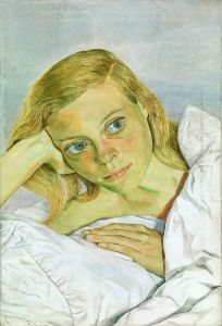 Lucian Freud,  Girl in Bed, 1952  © The Lucian Freud Archive / Bridgeman Images