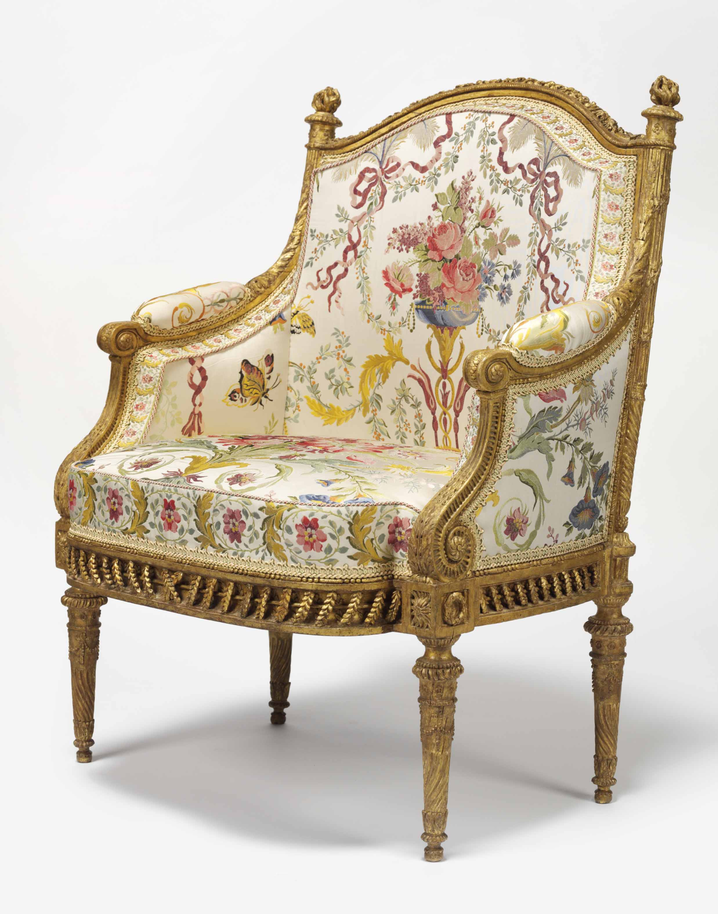 marie antoinette s exquisite armchair from the pavillon belvedere