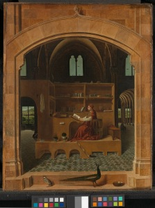 Antonello da Messina  Saint Jerome in his Study  about 1475  © The National Gallery, London