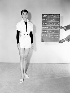 Costume test for Sabrina, Paramount Pictures, 1953 Copyright: Reserved