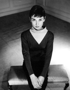 Audrey Hepburn by Antony Beauchamp, 1955 Copyright: Reserved