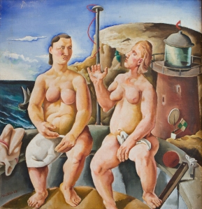 Composition, 1928 Oil on canvas, 106 x 100 cm Private collection