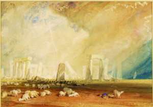 Stonehenge c.1827-29 Watercolour JMW Turner © The Salisbury Museum