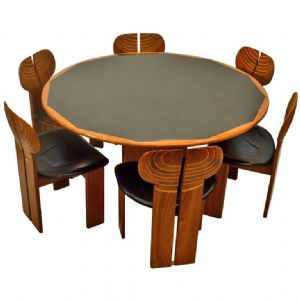 Artona dining set by Afra and Tobia Scarpa The Moderns at Alfies