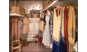 Mrs Post's Closet in her bedroom suite at Hillwood.