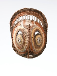 Gallery Lemaire (Amsterdam) New Guinea, Abelam - Yam mask 16 cm
