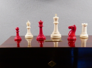 "Luke Honey A Fine Staunton ivory ""Club"" Chess Set by Jaques & Son, London, circa 1900-1910"