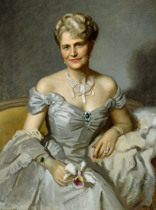Portrait of Mrs. Post (Davies), 1952, By Douglas Chandor