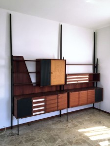 The Moderns Sculptural Italian 1950's Book Case and Sideboard by Vittorio Dassi